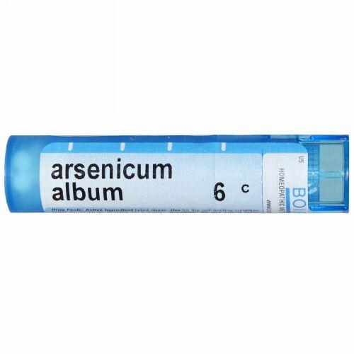 Boiron, Single Remedies, Arsenicum Album(アルセニカム アルバム)、6C、約80ペレット (Discontinued Item)