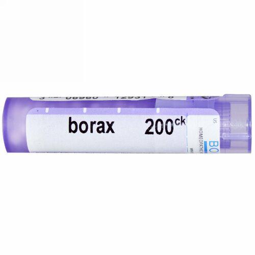 Boiron, Single Remedies, Borax(ボラックス)、200 CK、約80ペレット