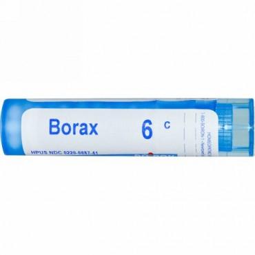 Boiron, Single Remedies, ホウ砂, 6C, 約 80 粒 (Discontinued Item)
