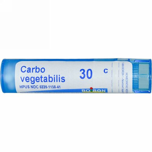 Boiron, Single Remedies, Carbo Vegetabilis, 30C, 約 80 粒