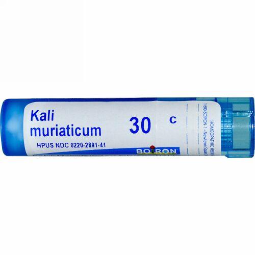 Boiron, Single Remedies, Kali Muriaticum(カーリー ムリアティカム)、30C、約80ペレット (Discontinued Item)