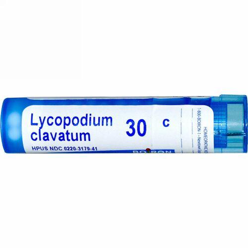 Boiron, Single Remedies, Lycopodium Clavatum, 30C, 約 80 粒