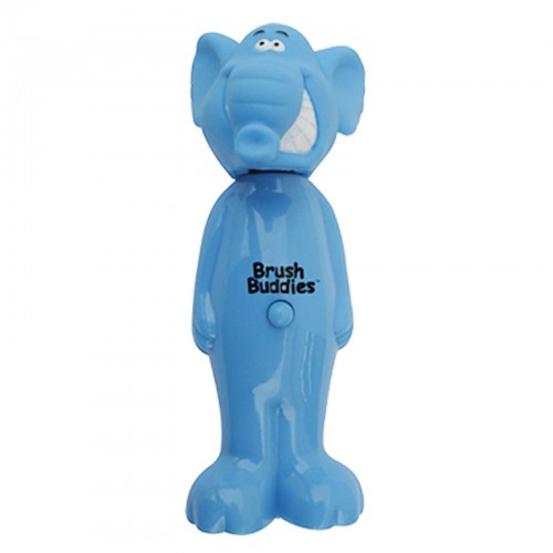 Brush Buddies, Poppin'、象のヘイリー、ソフト、 歯ブラシ1本 (Discontinued Item)
