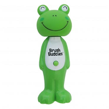 Brush Buddies, Poppin'、 ぴょんぴょんカエルのルイ、 ソフト、 歯ブラシ1本