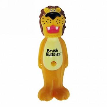 Brush Buddies, Poppin'、ライオンのリッキー、ソフト、 歯ブラシ1本 (Discontinued Item)