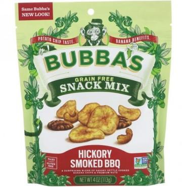 Bubba's Fine Foods, スナックミックス、スモーキーチポトレBBQ、4オンス (113 g) (Discontinued Item)