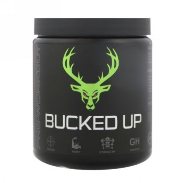 Bucked Up, トレーニング前用、スイカ風味、、312g(0.69 lbs) (Discontinued Item)