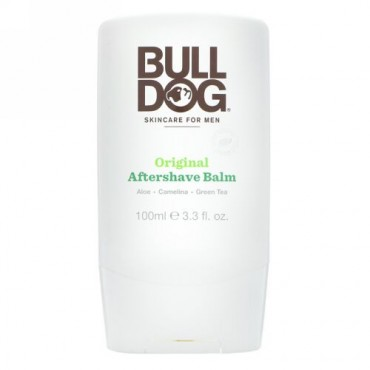 Bulldog Skincare For Men, オリジナル・アフターシェーブバーム、3.3 fl oz (100 ml) (Discontinued Item)