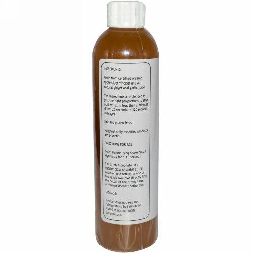 Caleb Treeze Organic Farm, ストップス アシッド リフラックス, 8 fl oz (237 ml)