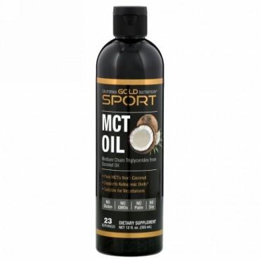 California Gold Nutrition, MCTオイル、355ml(12液量オンス)