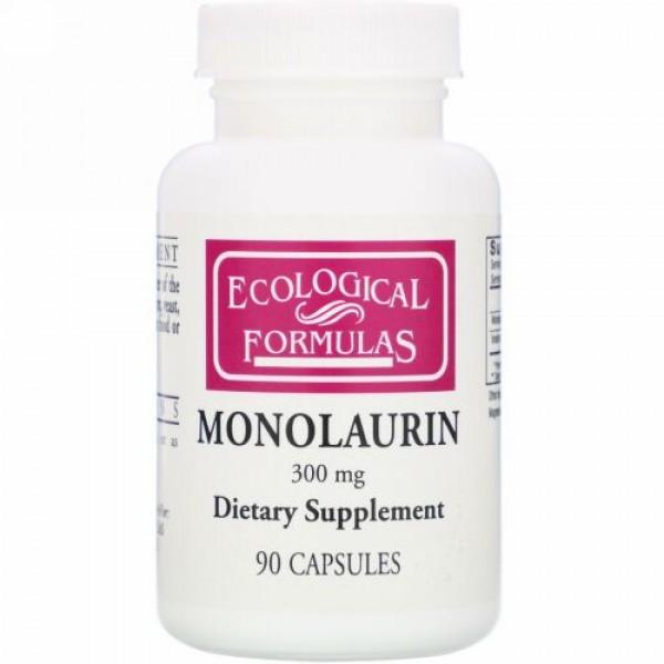 Cardiovascular Research, モノラウリン、300 mg、90カプセル