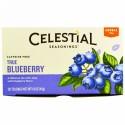 Celestial Seasonings, ハーバルティー, カフェインフリー, トゥルーブルーベリー, ティーバッグ 20袋, 1.6 オンス (45 g)
