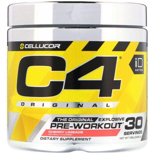 Cellucor, C4 Original Explosive(オリジナル エクスプローシブ),プレワークアウト, チェリーライムエード, 195g(6.88 oz)