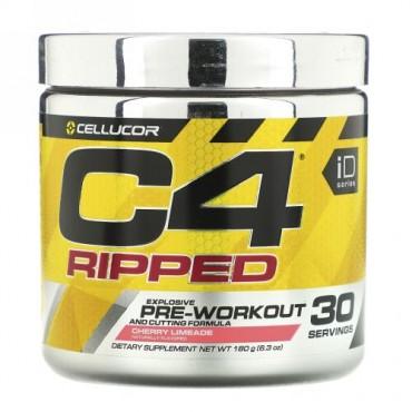Cellucor, C4リップド、プレワークアウト、チェリーライメード、6.34 oz (180 g)