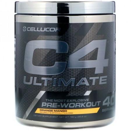 Cellucor, C4 Ultimate, Pre-Workout, Orange Mango, 26.8 oz (760 g) (Discontinued Item)
