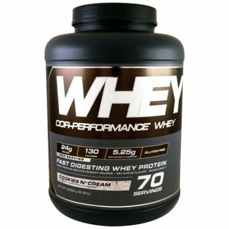 Cellucor, Cor-Performance Whey, Cookies N Cream, 5.19 lbs (2352 g) (Discontinued Item)