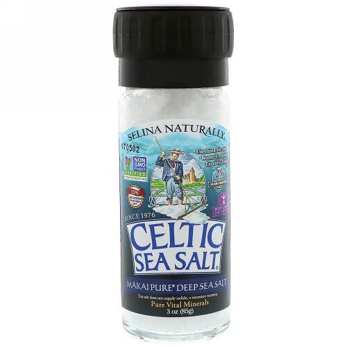 Celtic Sea Salt, Makai Pure Deep Sea Salt, Pure Vital Minerals, 3 oz (85 g) (Discontinued Item)