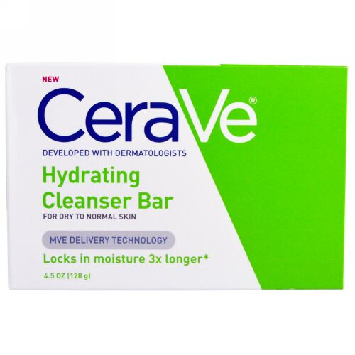 CeraVe, Hydrating Cleansing Bar, 4.5 oz (128 g) (Discontinued Item)