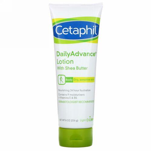 Cetaphil, シアバター配合DailyAdvance(デイリーアドバンス)ローション、226g(8オンス)