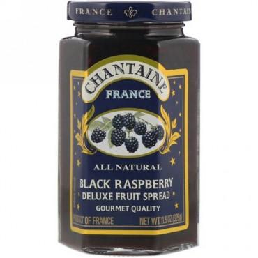 Chantaine, デラックスフルーツスプレッド、クロミキイチゴ、11.5 oz (325 g) (Discontinued Item)