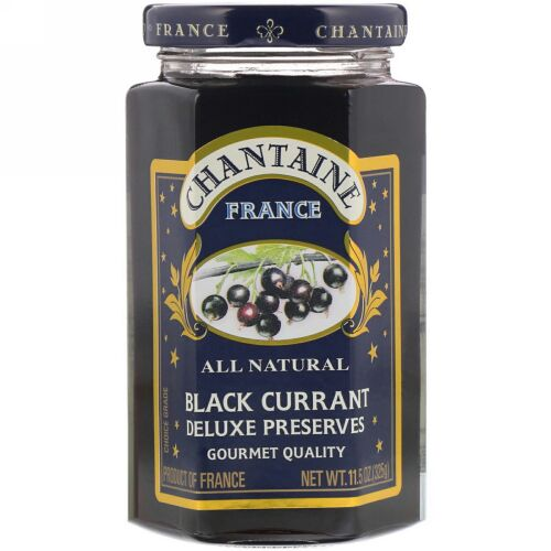 Chantaine, デラックスプリザーブス、ブラックカラント、11.5 oz (325 g) (Discontinued Item)