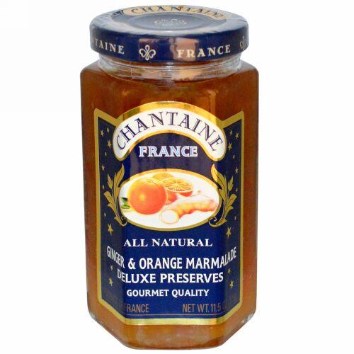 Chantaine, デラックスプリザーブス、ジンジャー & オレンジマーマレード、11.5 oz (325 g) (Discontinued Item)