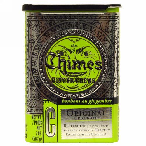Chimes, Ginger Chews, Original, 2 oz. (Discontinued Item)