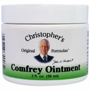 Christopher's Original Formulas, ヒレハリソウ軟膏, 2 液量オンス (59 ml)