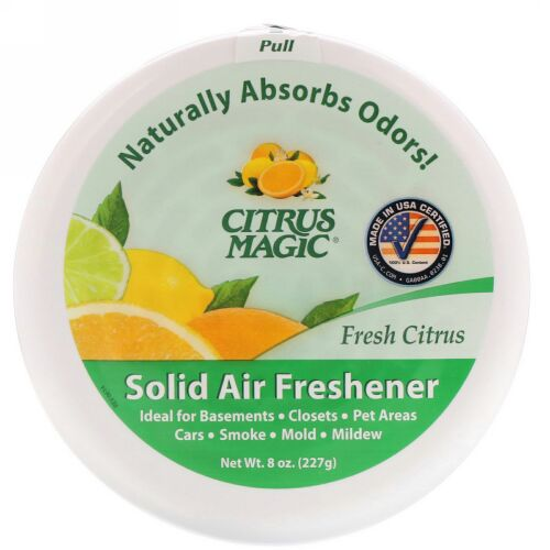 Citrus Magic, 固形芳香剤, フレッシュシトラス, 8オンス (227 g) (Discontinued Item)