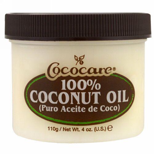 Cococare, 100% ココナッツオイル、4 オンス(110 g)