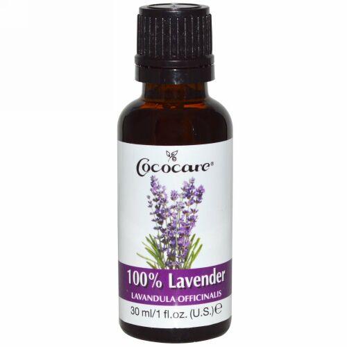 Cococare, 100%ラベンダー、1 fl oz (30 ml)