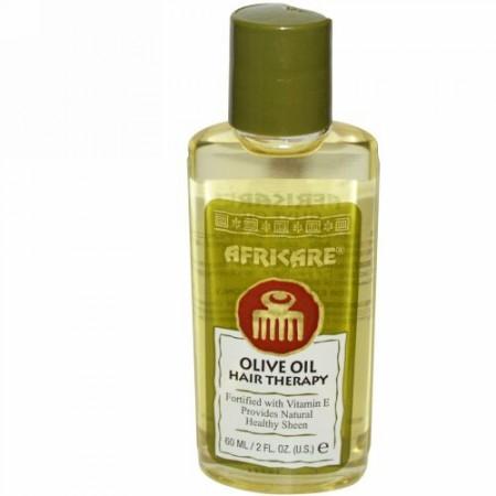 Cococare, アフリカーレ、オリーブオイル・ヘアセラピー、2 液体オンス(60 ml)