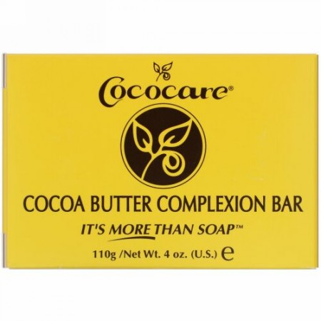 Cococare, ココアバター・コンプレクションバー、4オンス(110g)