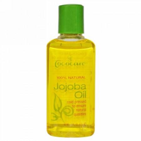 Cococare, ホホバオイル、 2 液量オンス (60 ml)