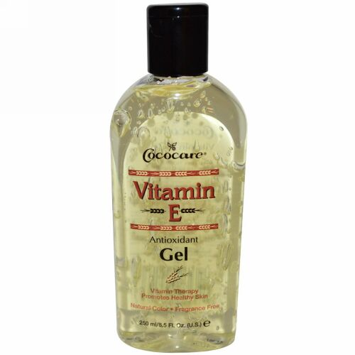 Cococare, ビタミンE酸化防止剤ゲル、8.5フロス(250ml)