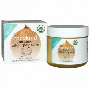 Cocokind, Organic All-Purpose Salve, 2 oz (60 ml) (Discontinued Item)