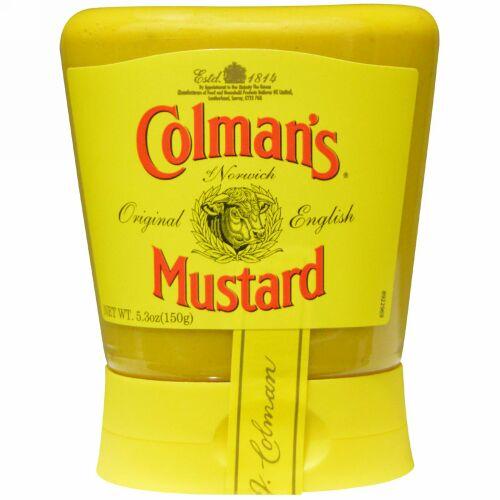 Colman's, オリジナル・イングリッシュマスタード、 5.3 オンス (150 g)