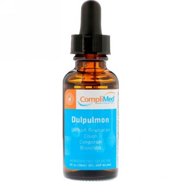 CompliMed, ダルプルモン、30ml(1 fl oz) (Discontinued Item)