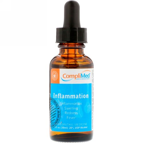 CompliMed, 炎症、1液量オンス (30 ml) (Discontinued Item)