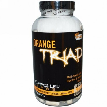 Controlled Labs, オレンジトライアド、マルチビタミン、関節、消化&免疫フォーミュラ、270錠