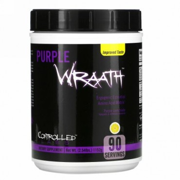 Controlled Labs, パープルラース(Purple Wraath)、パープルレモネード、2.44 lbs (1108 g)
