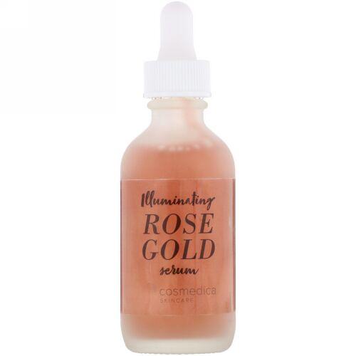 Cosmedica Skincare, イルミネーティングローズゴールドセラム、2オンス (60 ml)