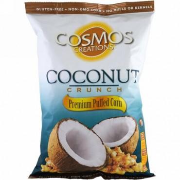 Cosmos Creations, プレミアムパフコーン、ココナッツクランチ、6.5 oz (184.3 g) (Discontinued Item)