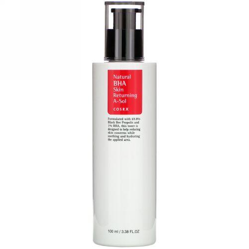 Cosrx, Natural BHA Skin Returning A-Sol, 3.38 fl oz (100 ml) (Discontinued Item)