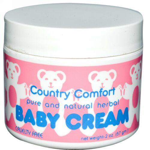 Country Comfort, ベビークリーム, 2 オンス (57 g)