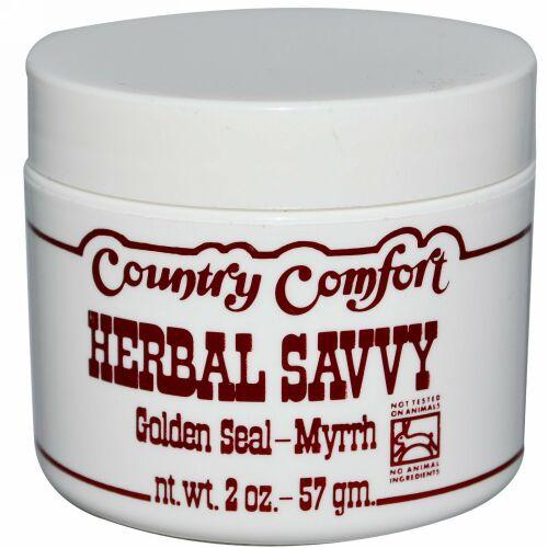 Country Comfort, ハーバルサビー、 ゴールデンシール・ミルラ、 2オンス (57 g)