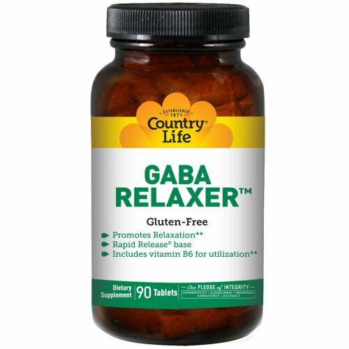 Country Life, ギャバ リラクサー(GABA Relaxer), 90錠