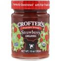 Crofter's Organic, プレミアムスプレッド、ストロベリー、オーガニック、10 oz (283 g) (Discontinued Item)