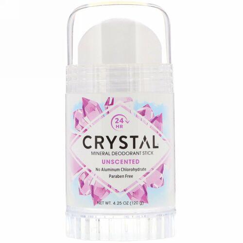 Crystal Body Deodorant, ミネラルデオドラントスティック、無香料、4.25 oz (120 g)