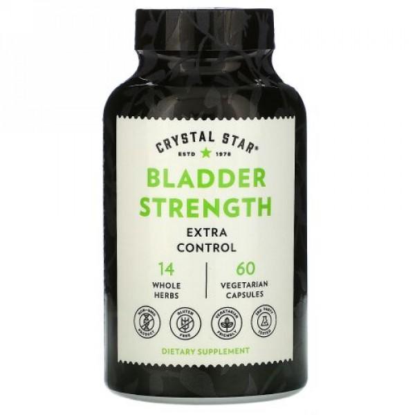 Crystal Star, Bladder Strength, 60 Vegetarian Capsules